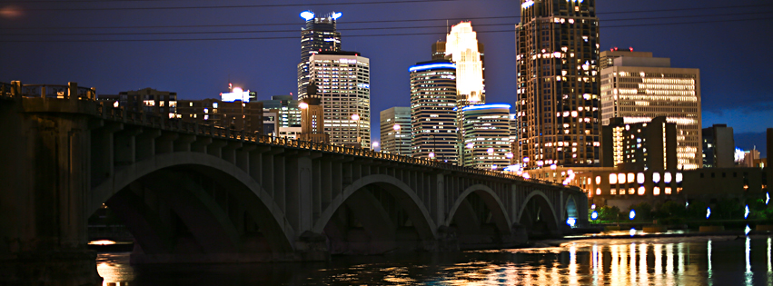 Downtown Skyline, Minneapolis, MN