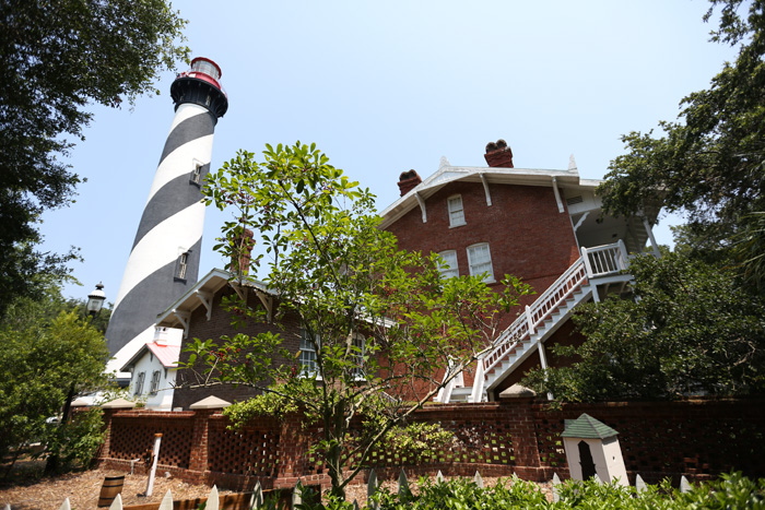 St. Augustine Lighthouse in St. Augustine, FL