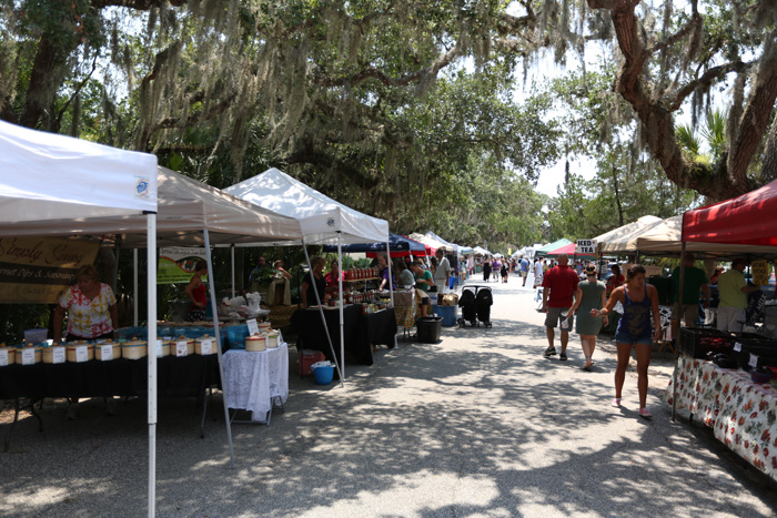 Old Town Farmers Market in St. Augustine, FL