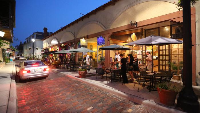 Aviles Street in St. Augustine, FL