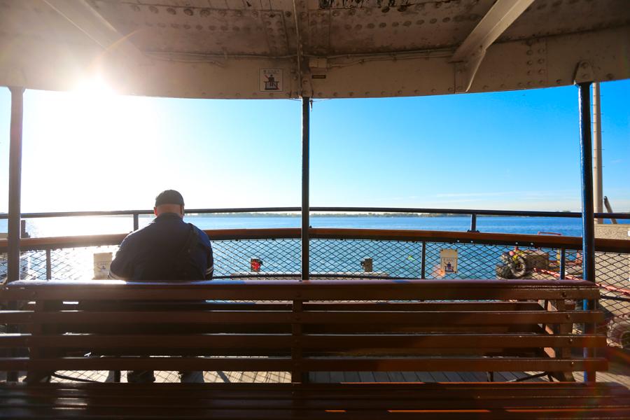 Toronto Island Ferry Seats
