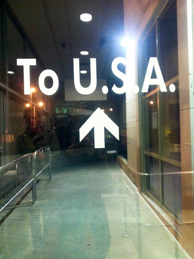 To USA