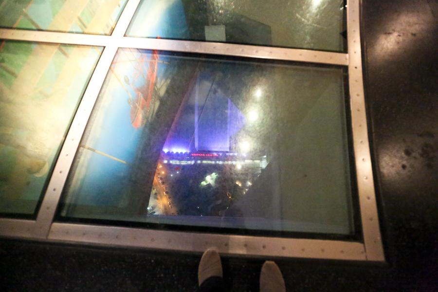 Straight Down - CN Tower Glass Floor