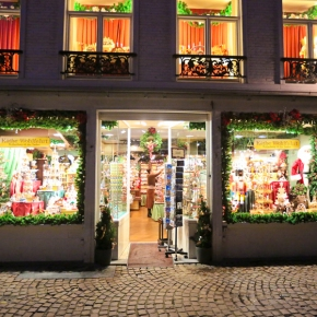 Festive Bruges