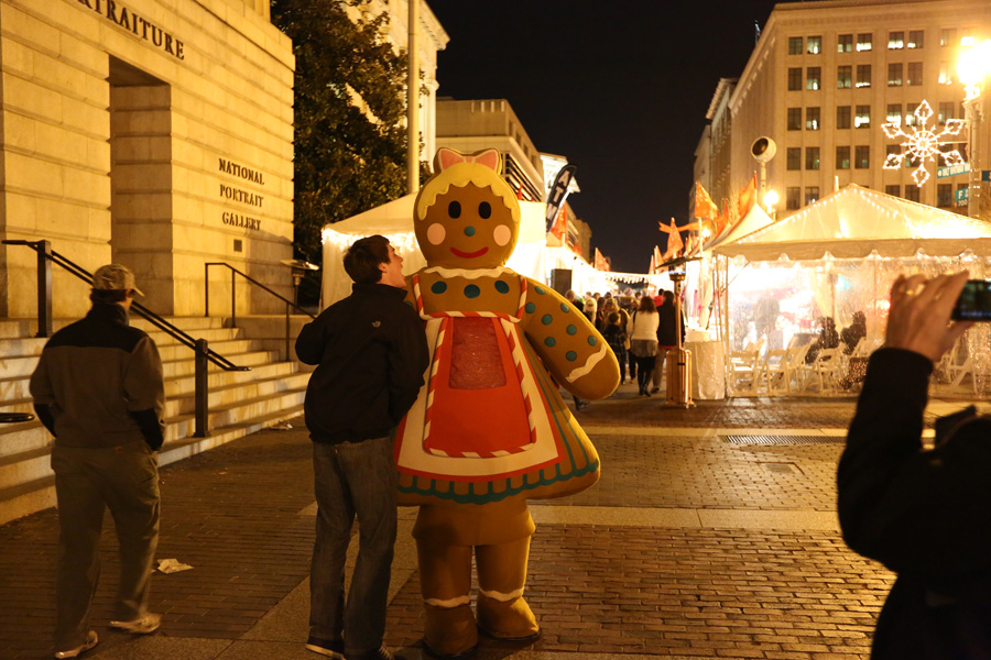 Christmas Market, Washington DC