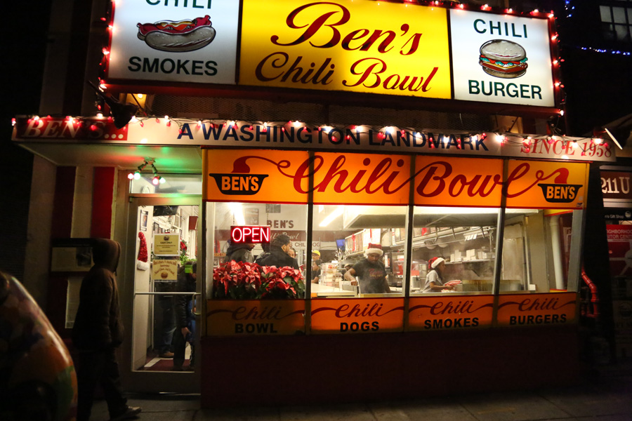 Ben's Chili Bowl, Washington DC