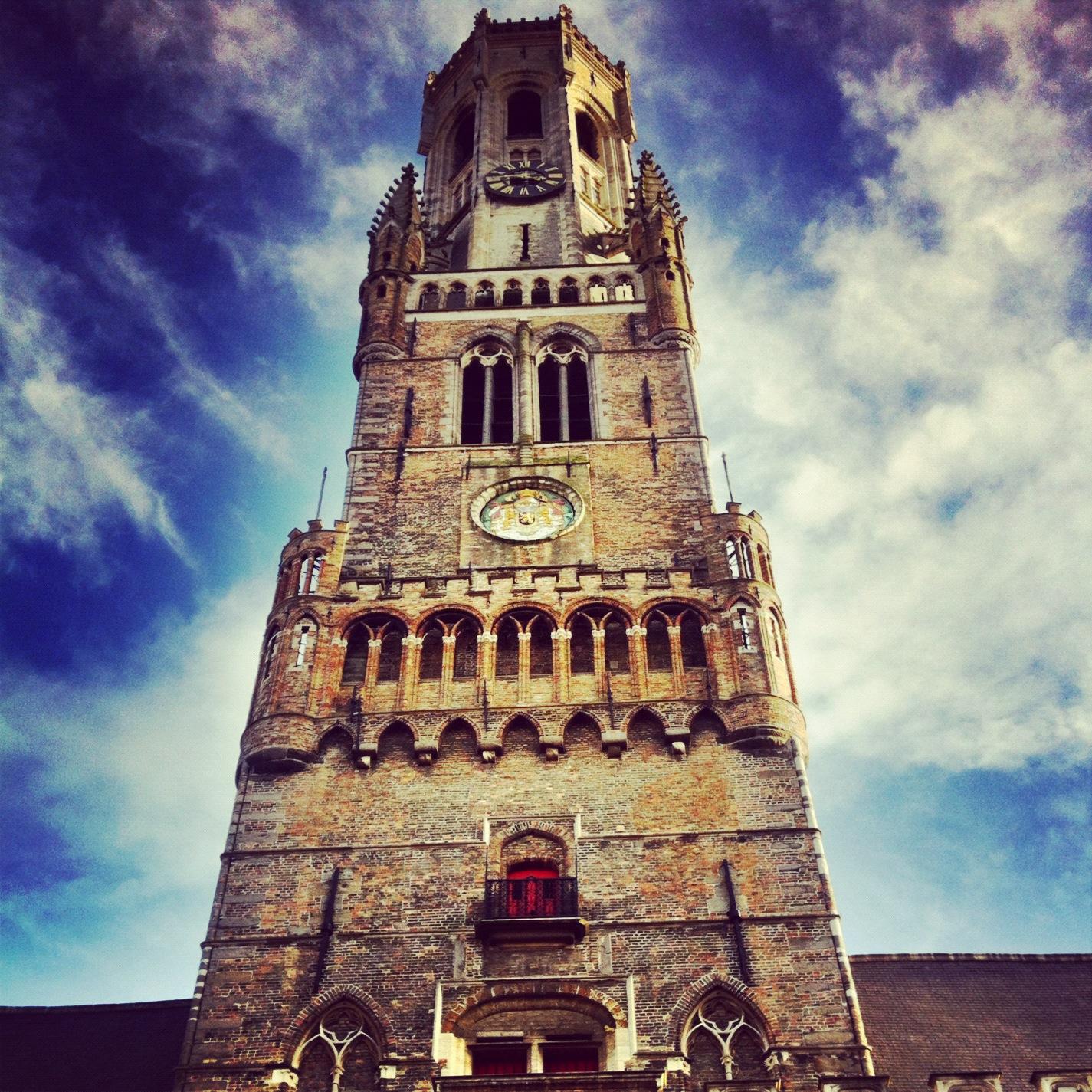 Belfry Tower, Bruges, Belgium